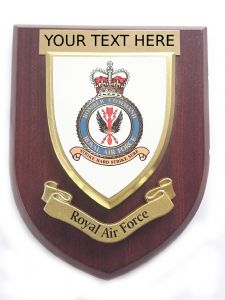 RAF Royal Air Force Bomber Command Personalised Military Wall Plaque (2)